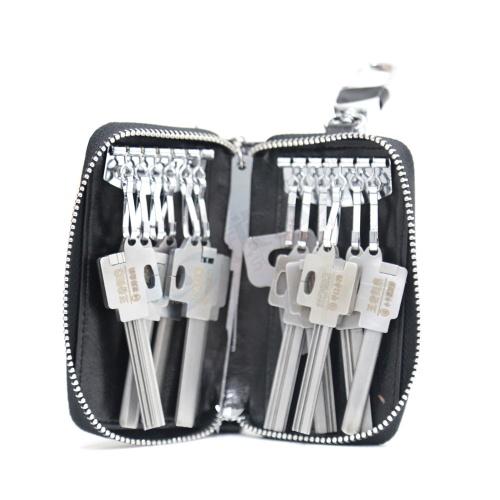 锁艺人-王者归来 锡纸工具10件套装-定制版 带导针和摇把 锡纸快开工具套装   防盗锁套装