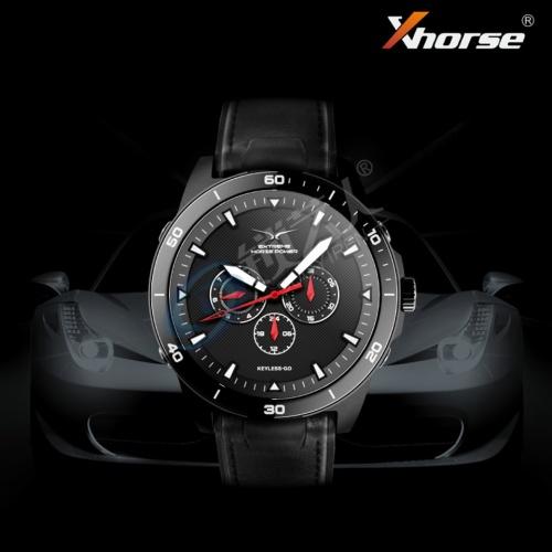 VVDI Xhorse智能汽车遥控手表  爵士蓝 伯爵黑 SW-007 石英智能手表钥匙 遥控  手表钥匙 石英智能钥匙手表