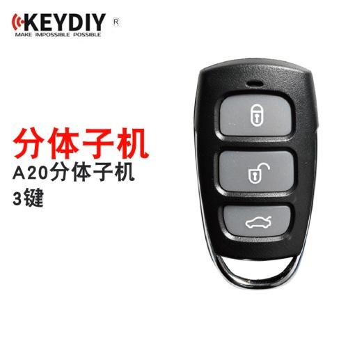 KD新款A20分体子机3键