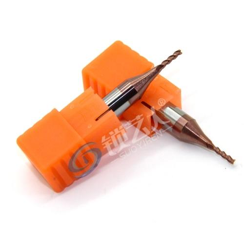 意大利开灵994钥匙机专用铣刀  硬质合金铣刀 1.5*6D*40L*3F 数控机进口钨钢铣刀 F夹具