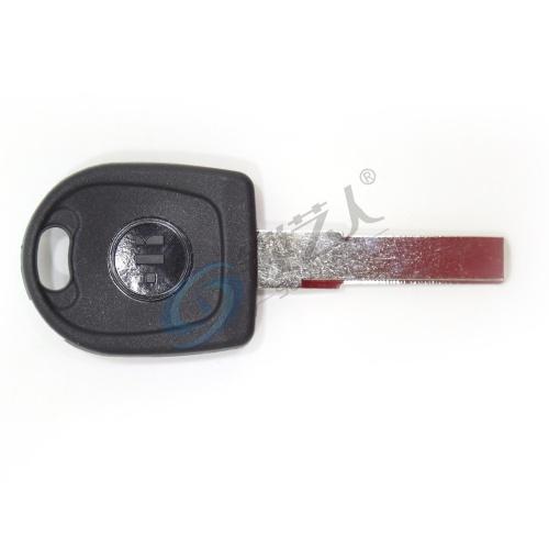 意大利进口开灵KEYLINE大众芯片钥匙壳V66TK HU66 大众直板钥匙-带芯片槽