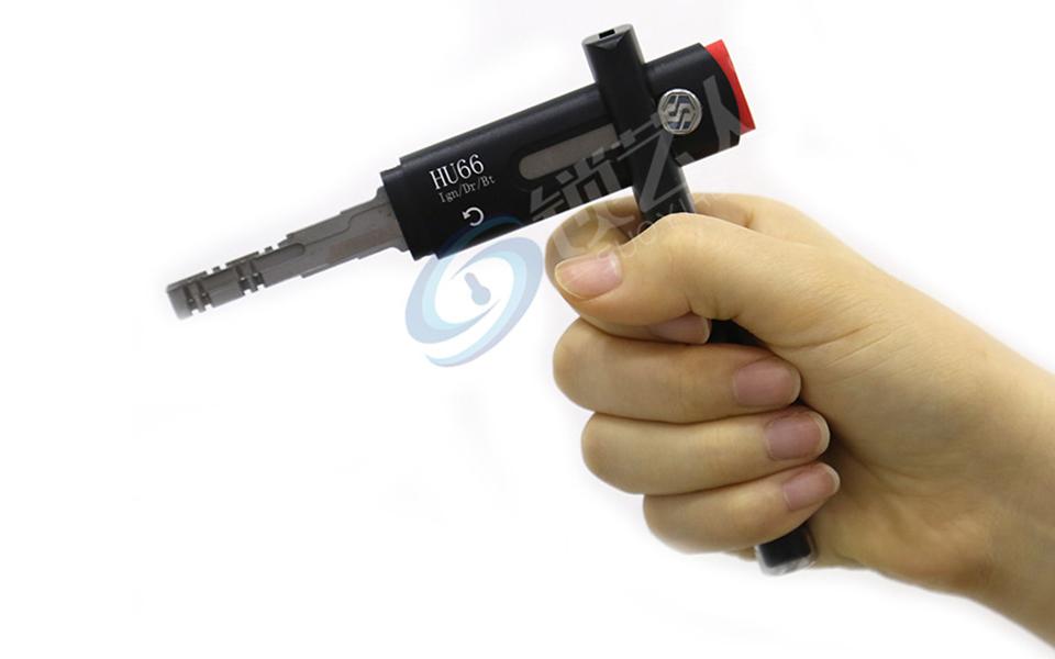 HU66 大众 汽车 钥匙 速模 快开 工具 晃匙 加力杆 杠杆