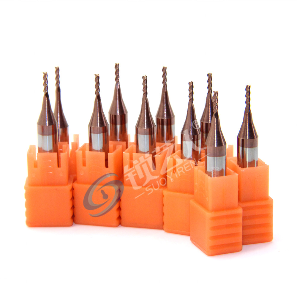 意大利开灵994钥匙机专用铣刀 994进口碳化物 硬质合金铣刀1.5*6D*40L*3F