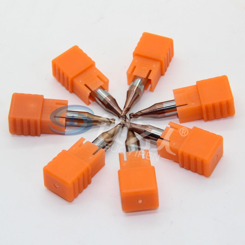 开灵994钥匙机专用铣刀 994进口碳化物 硬质合金铣刀2.5*6D*40L*3F
