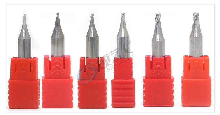 锐正钨钢立铣刀狼牙刀 配钥匙铣刀 立式钥匙机专用铣刀 铣槽 打孔